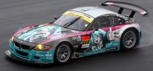 вокалоиды, djrfkjbls, хатсуне мику, мику, hatsune miku GLAD BMW Z4 2008 Super GT qualifying