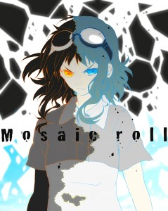 Mosaic Roll Gumi black hair