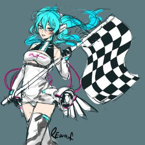 Miku Racing 2014