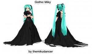 Gothic Miku