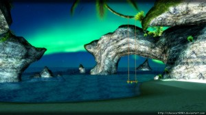 grotto_environment___mmd_stage_dl_by_chococat9001-d55k7t8