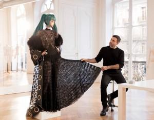 Хатсуне Мику в Vogue