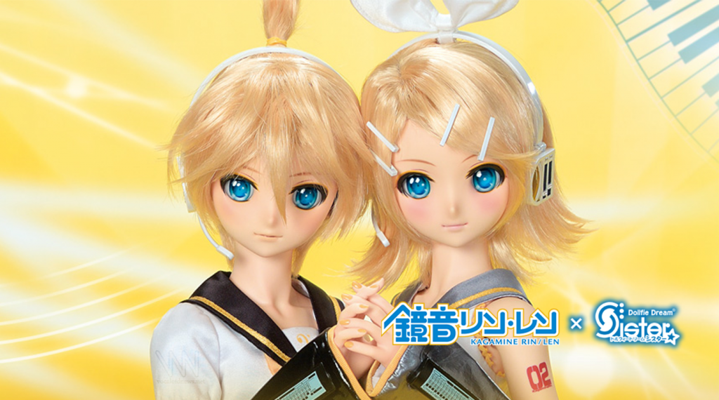 Kagamine Rin and Len Dollfie Dream Dolls